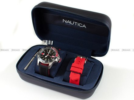 Zegarek Męski Nautica Freeboard NAPFRB926 - W zestawie dodatkowy pasek