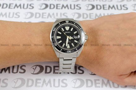 Zegarek Męski Seiko Prospex King Samurai Automatic Diver SRPE35K1