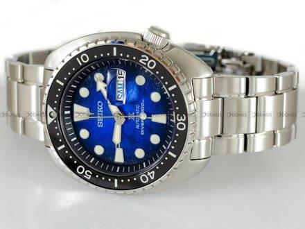 "Zegarek Męski Seiko Prospex King Turtle Automatic Diver ""Save The Ocean"" SRPE39K1 - Specjalna edycja"