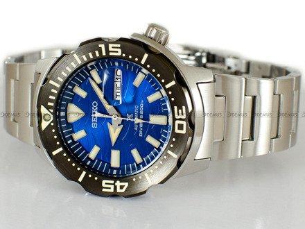 """Zegarek Męski Seiko Prospex Monster Automatic Diver """"Save The Ocean"""" SRPE09K1"""