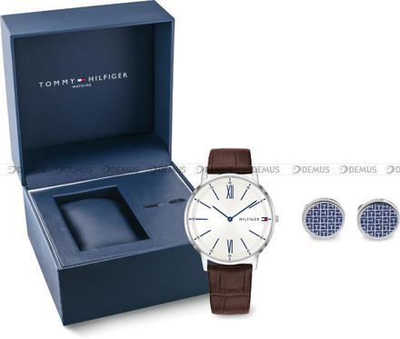 Zegarek Męski Tommy Hilfiger 2770031 - Spinki do mankietów w zestawie