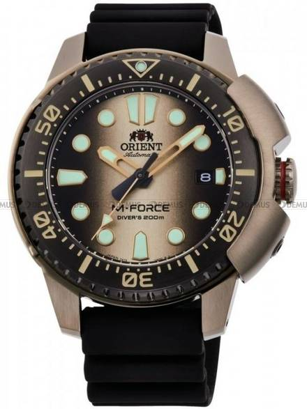 Zegarek Męski automatyczny Orient M-Force 70th Anniversary RA-AC0L05G00B - Limitowana Edycja