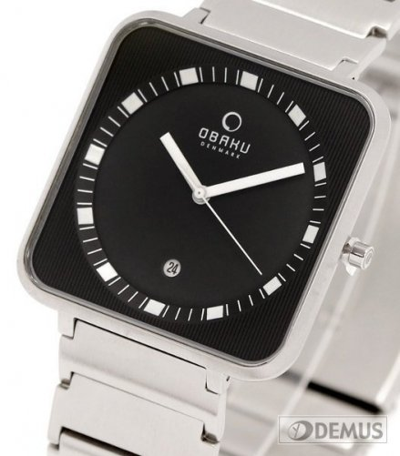 Zegarek męski na bransolecie Obaku V139GCBSC