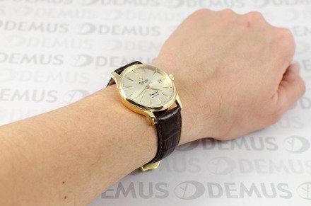Zegarek złoty Atlantic Seagold Automatic 95743.65.31 męski