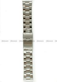 Bransoleta stalowa do zegarka - Bra20 - 22 mm