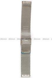 Bransoleta stalowa do zegarka Vostok Almaz - 22 mm srebrna