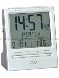Budzik cyfrowy sterowany radiowo JVD RB9299.1