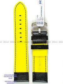 Pasek do zegarka wodoodporny skórzany - Morellato A01X5272C91197CR18 - 18 mm