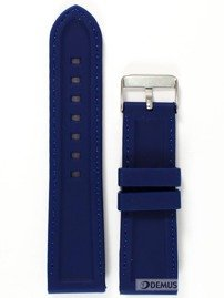 Pasek silikonowy do zegarka - Chermond PG1.24.2.2 - 24 mm