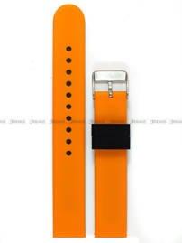 Pasek silikonowy do zegarka - Chermond PG11.18.1.5 - 18 mm