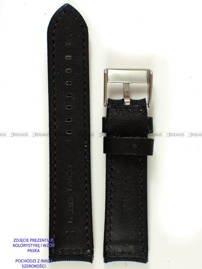 Pasek skórzano-nylonowy do zegarka - Pacific W34.20.1.7 - 20 mm