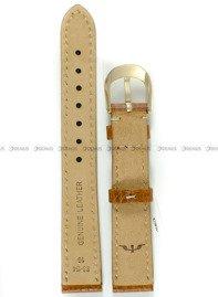 Pasek skórzany do zegarka Bisset - BS-154 - 16 mm