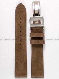 Pasek skórzany do zegarka Bisset BSCE84 - ABP/E84-Brown - 20 mm
