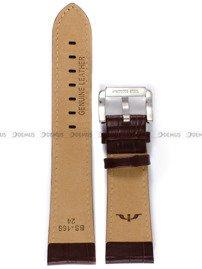 Pasek skórzany do zegarka Bisset - PB99.24.2 - 24 mm