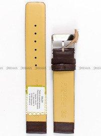 Pasek skórzany do zegarka - Diloy 327.18.2 18mm