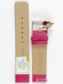 Pasek skórzany do zegarka - Diloy 327.20.14 - 20 mm