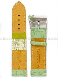 Pasek skórzany do zegarka - Diloy 361.24.11 - 24mm
