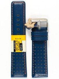 Pasek skórzany do zegarka - Diloy 367.24.5 - 24mm