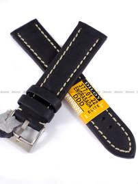 Pasek skórzany do zegarka - Diloy 377.22.1 - 22 mm