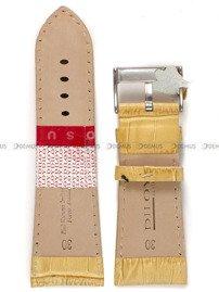 Pasek skórzany do zegarka - Diloy 378EA.30.17 - 30 mm