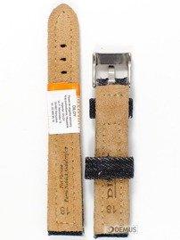 Pasek skórzany do zegarka - Diloy 389.18.1 - 18 mm
