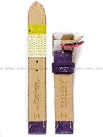 Pasek skórzany do zegarka - Diloy P205.14.18 - 14mm