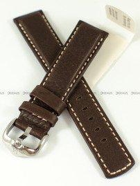 Pasek skórzany do zegarka - Hirsch Mariner 14502110-2-20 - 20 mm