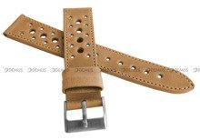 Pasek skórzany do zegarka - LAVVU LSGUD20 - 20 mm