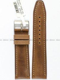 Pasek skórzany do zegarka - LAVVU LSKUE22 - 22 mm