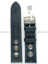 Pasek skórzany do zegarka - LAVVU LSMUL22 - 22 mm