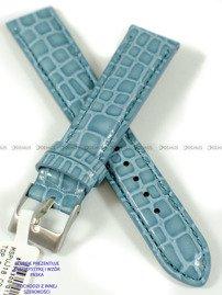 Pasek skórzany do zegarka - Minet MSPUJ16 - 16 mm