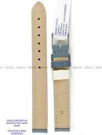Pasek skórzany do zegarka - Morellato A01X0969087093CR14 - 14 mm