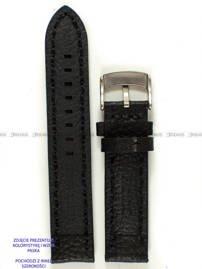 Pasek skórzany do zegarka - Pacific W24.24.1.1 - 24 mm