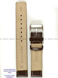 Pasek skórzany do zegarka - Pacific W37.20.2.7 - 20 mm
