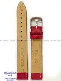 Pasek skórzany do zegarka - Pacific W70L.24.4.4 - 24 mm
