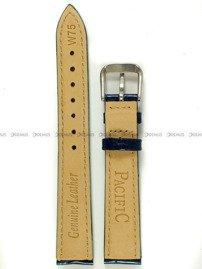 Pasek skórzany do zegarka - Pacific W75.16.5.5 - 16 mm