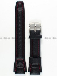 Pasek skórzany do zegarków Casio AQF-102WL - 17 mm