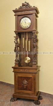 Zegar mechaniczny stojący Herman-Gold-CD