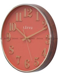 Zegar ścienny LAVVU HOME Red LCT1163