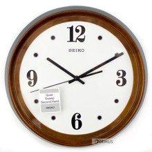Zegar ścienny drewniany Seiko QXA540B