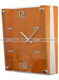 Zegar ścienny drewniany kwadratowy JVD N1176.41