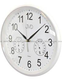 Zegar ścienny plastikowy z termometrem i higrometrem HTP64.1