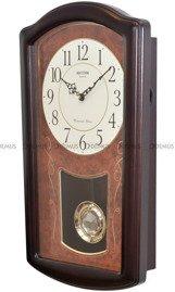Zegar wiszący kwarcowy Rhythm CMJ321NR06 Brown
