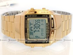 Zegarek Casio DB 360GN 9AEF męski cyfrowy na stalowej bransolecie