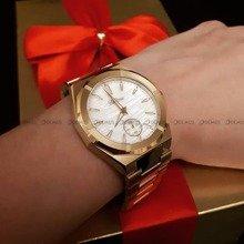 Zegarek Damski Balticus Złoty Pył Masa Perłowa