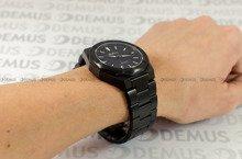 Zegarek Męski Balticus Czarny Pył Matowy z datownikiem