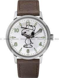 Zegarek Męski Timex Welton Snoopy TW2R94900