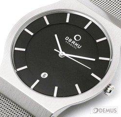 Zegarek męski na bransolecie Obaku V123GCBMC