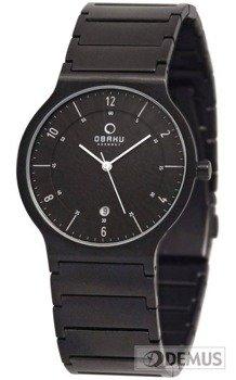 Zegarek męski na bransolecie Obaku V133GBBSB